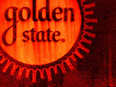 Wall Art - Painting - Golden State #2 by Michael Jewel Haley