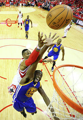 Photograph - Golden State Warriors V Houston Rockets by Ronald Martinez