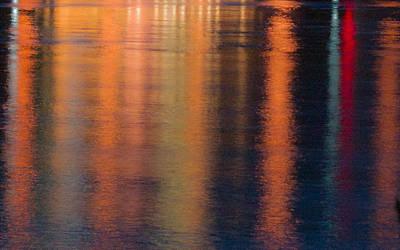 Photograph - Golden Streamers Of Light by Douglas Barnett