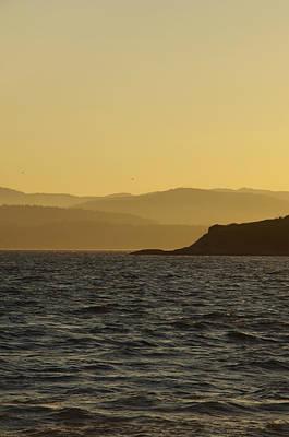 Photograph - Golden Sunset by Marilyn Wilson