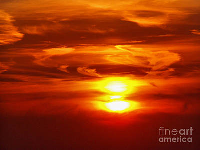 Photograph - Golden Sunset by Nina Ficur Feenan