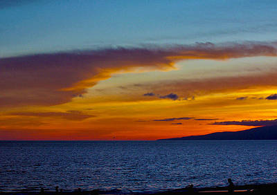 Photograph - Golden Sunset by Ron Roberts