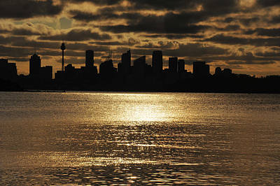 Photograph - Golden Sydney by Harry Spitz