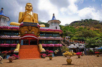 Photograph - Golden Temple In Dambulla. Sri Lanka by Jenny Rainbow