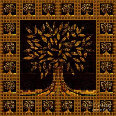 Painting - Golden Tree by Barbara Moignard