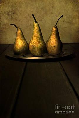 Hand Made Photograph - Golden Trio by Jaroslaw Blaminsky