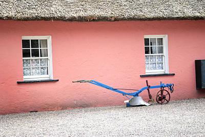 Folk Park Digital Art - Golden Vale Farmhouse by Danielle Summa
