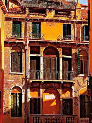 Golden Venice Original by Ira Shander