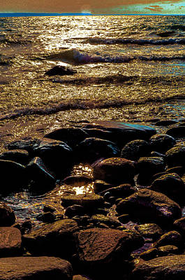 Photograph - Golden Water by Douglas Pike