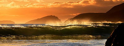 Photograph - Golden Wave by Florian Walsh
