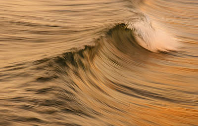 Photograph - Golden Wave Of Hawaii by Tin Lung Chao
