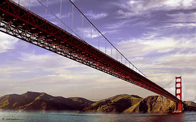 Goldengate Bridge San Francisco Art Print by Bob and Nadine Johnston