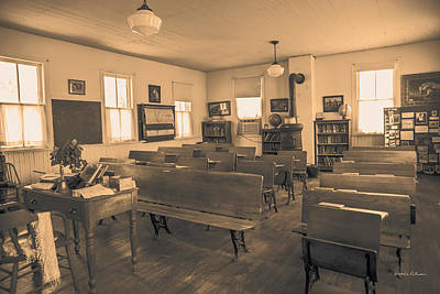 Photograph - Goldenrod Classroom by Edward Peterson