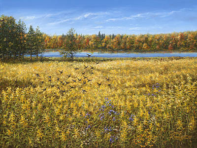 Painting - Goldenrod by Doug Kreuger