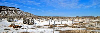Photograph - Goldfield Cemetery by Marilyn Diaz