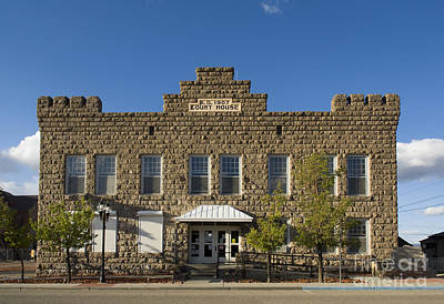 Photograph - Goldfield Courthouse by Dan Suzio