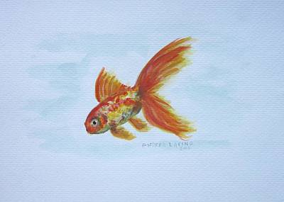 Goldfish Painting - Goldfish by Andrea Flint Lapins