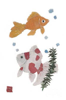 Painting - Goldfish Art by Keiko Suzuki