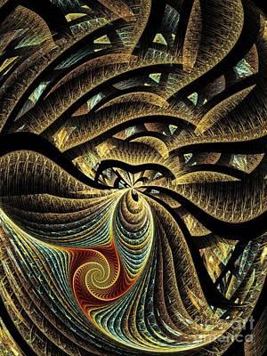 Goldfish Digital Art - Goldfish by Klara Acel