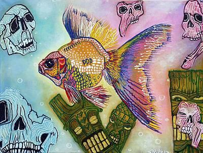 Goldfish Spirits Original by Laura Barbosa