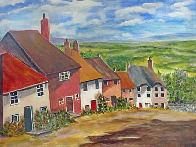 Painting - Goldhill II by Heidi Patricio-Nadon