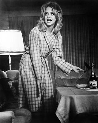 Goldie Photograph - Goldie Hawn In $  by Silver Screen