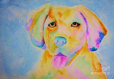 Painting - Goldie by Melinda Etzold