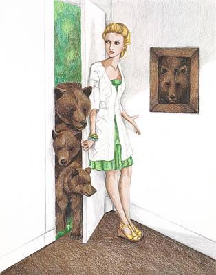 Goldilocks Art Print by Emily Bostwick
