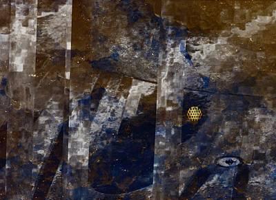 Digital Art - Goldmine by Peter Norden