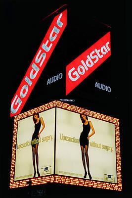 Photograph - Goldstar Neon Nyc by Joann Vitali