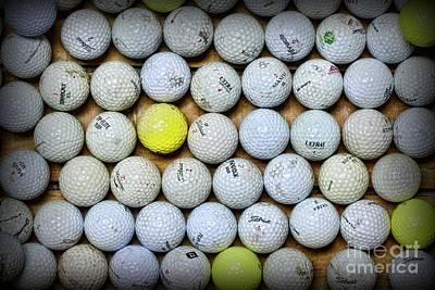 Golf Balls 2 Art Print by Paul Ward