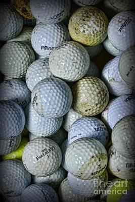 Golf Balls 3 Art Print