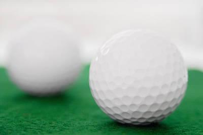 Golf Balls Art Print by Vizual Studio