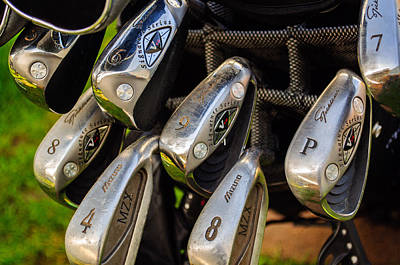 Photograph - Golf Clubs by Tikvah's Hope
