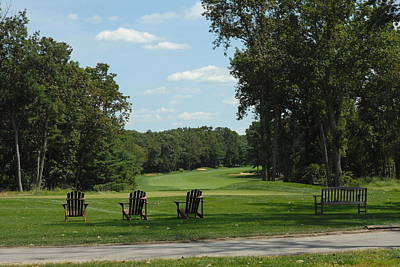 Er Photograph - Golf Course 301 by Joyce StJames