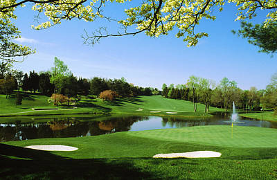 Maryland Photograph - Golf Course, Congressional Country by Panoramic Images