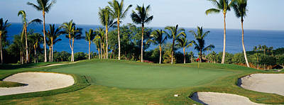 Golf Photograph - Golf Course Maui Hi by Panoramic Images