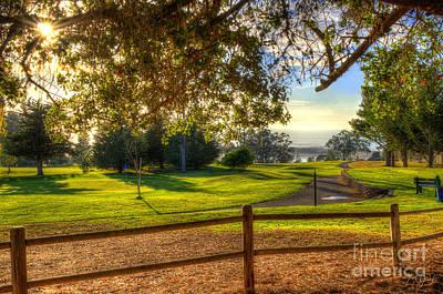 Photograph - Golf Course Ocean View by Mathias