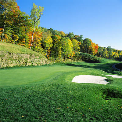 Golf Course, Raven Golf Club, Snowshoe Art Print by Panoramic Images