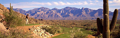 Tucson Arizona Photograph - Golf Course Tucson Az by Panoramic Images