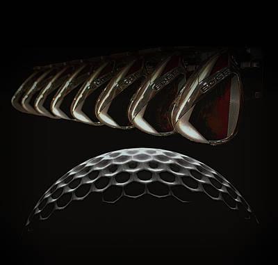 9 Ball Photograph - Golf Dream by Daniel Hagerman
