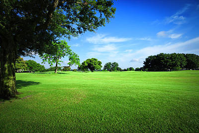 Photograph - Golf Fields by Apomares
