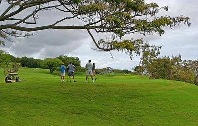 Photograph - Golf Foursome by John Orsbun