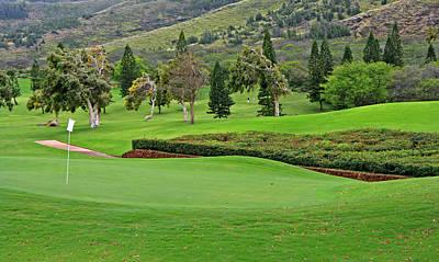 Photograph - Golf Greens And Fairway by John Orsbun