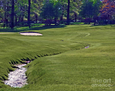 Sports Royalty-Free and Rights-Managed Images - Golf Hazards by Dawn Gari