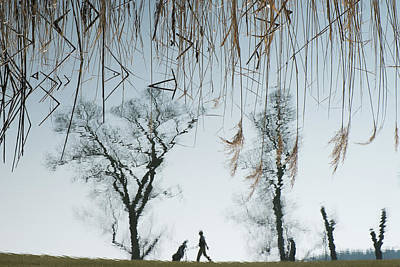 Puddle Photograph - Golf by Martina Dimunov?