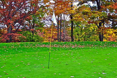 Golf My Way Art Print by Frozen in Time Fine Art Photography