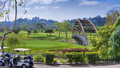 Photograph - Golfers Bridge by David Zanzinger