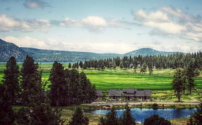 Thomas Kinkade Royalty Free Images - Golfers Paradise Royalty-Free Image by Melanie Lankford Photography