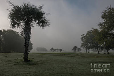 Photograph - Golfing In The Fog by Dale Powell